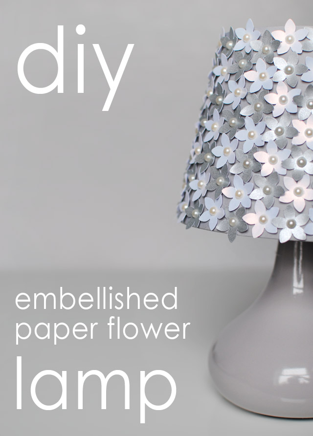 DIY Paper Flower Lamp | Hello Gwen