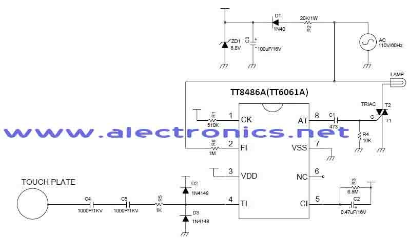 touch lamp control wiring diagram touch image touch lamp switch wiring diagram jodebal com on touch lamp control wiring diagram