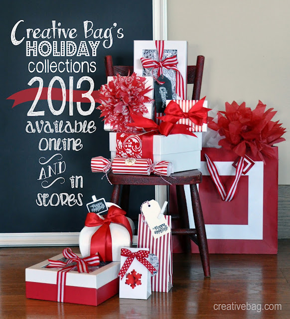 shop at creativebag.com for all of your Christmas holiday packaging supplies