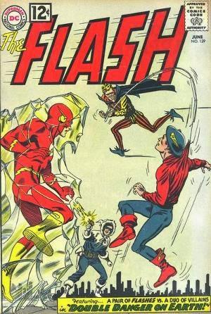Flash #129 comic image