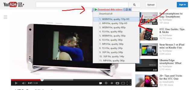 Inter Download Manager download videos