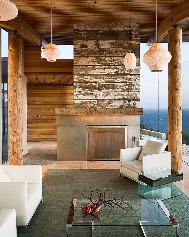 Casa rustica enclavada en la montana for Casa en la montana
