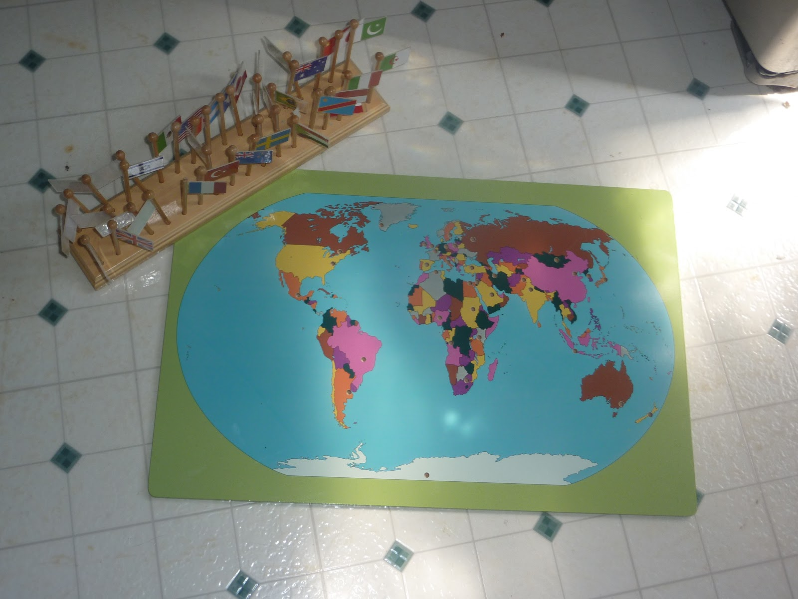 Montessori geography montessori i got it for 24 but i dont see it on clearance on their site any more but there is lots of great stuff on clearance on their site gumiabroncs Choice Image