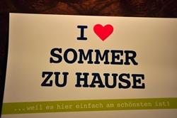 Sommer zu Hause...