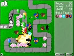 BLOONS TOWER DEFENSE FLASH GAME