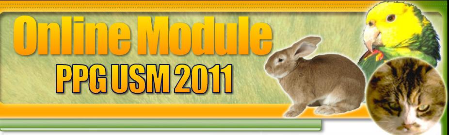 Online Module-PPG USM2011