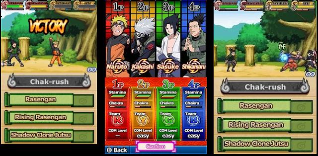 Naruto Shippuden: Shinobi Rumble [NDS]