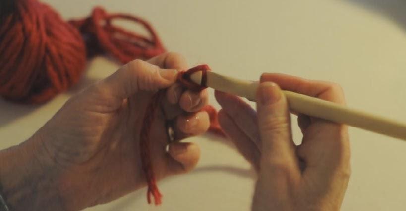 Tutorial Punto de crochet Cadeneta