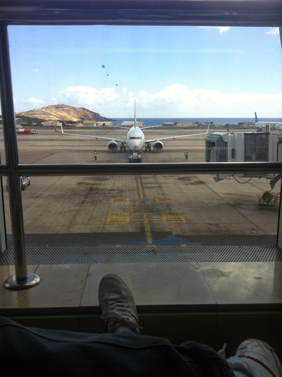 Señales viales en los aeropuertos