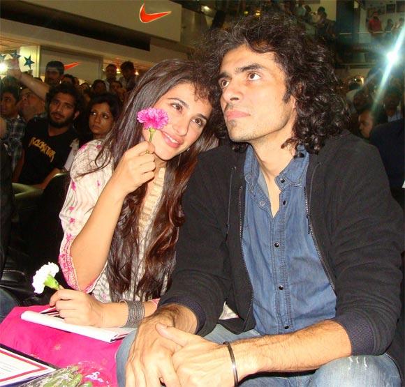 , Nargis Fakhri With Imtiaz Ali