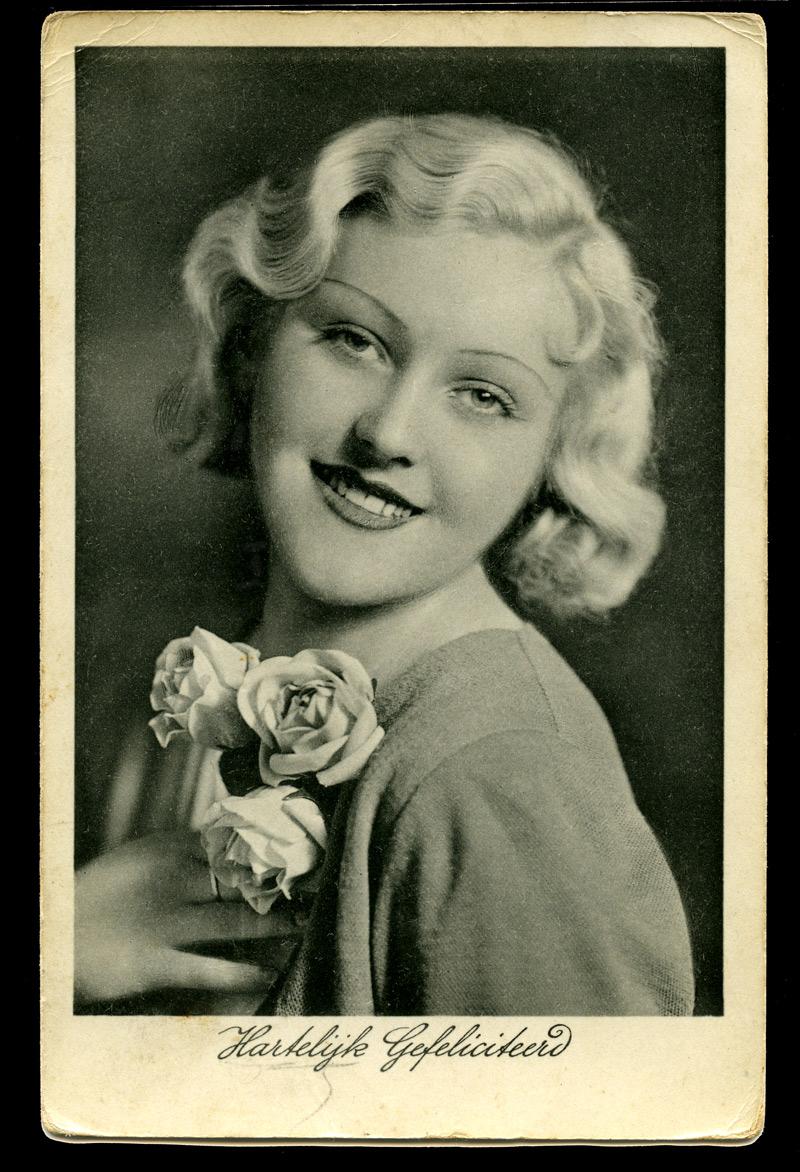 Hartelijk Gefeliciteerd - 1936 : Aan de Jongedame Nele Rooÿen