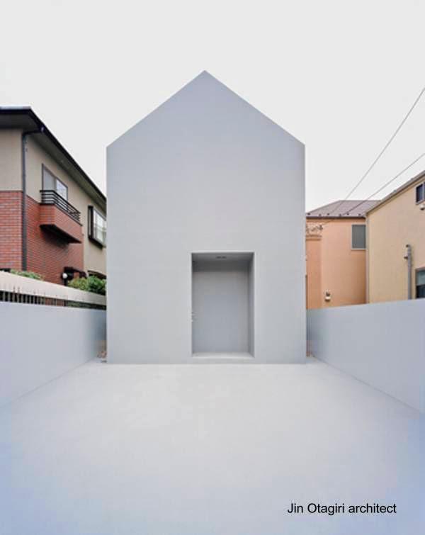 Casa minimalista al extremo en Japón