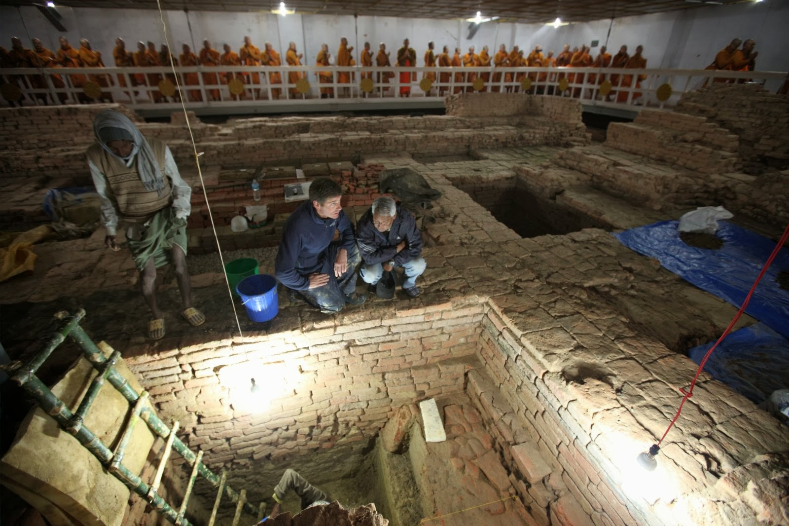Discoveries confirm early date of Buddha's life