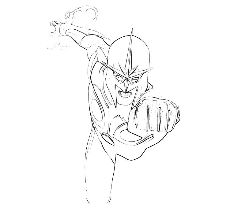 Iron Fist Disney Infinity Coloring Pages Coloring Pages