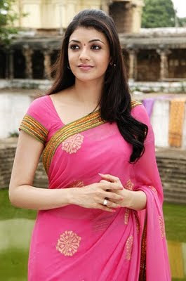 kajal_agarwal_hot_saree_photos