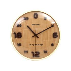 Reloj de madera 24 horas relojes de pared - Reloj pared madera ...