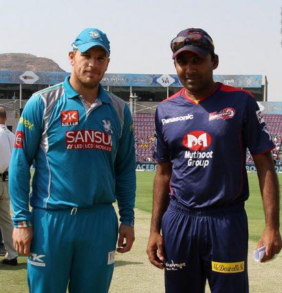 Aaron-Finch-Mahela-Jayawardene-PWI-vs-DD-IPL-2013