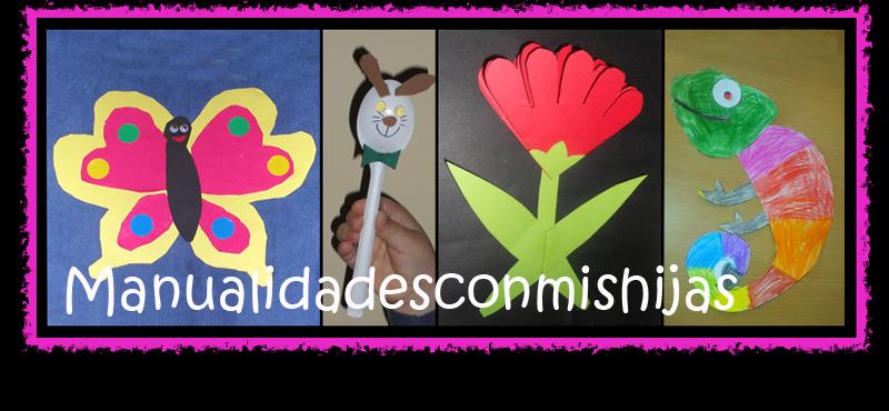 blog de la semana, manualidades con mis hijas, manualidades, diy