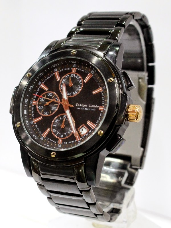 george claude 4113 all black male 45mm