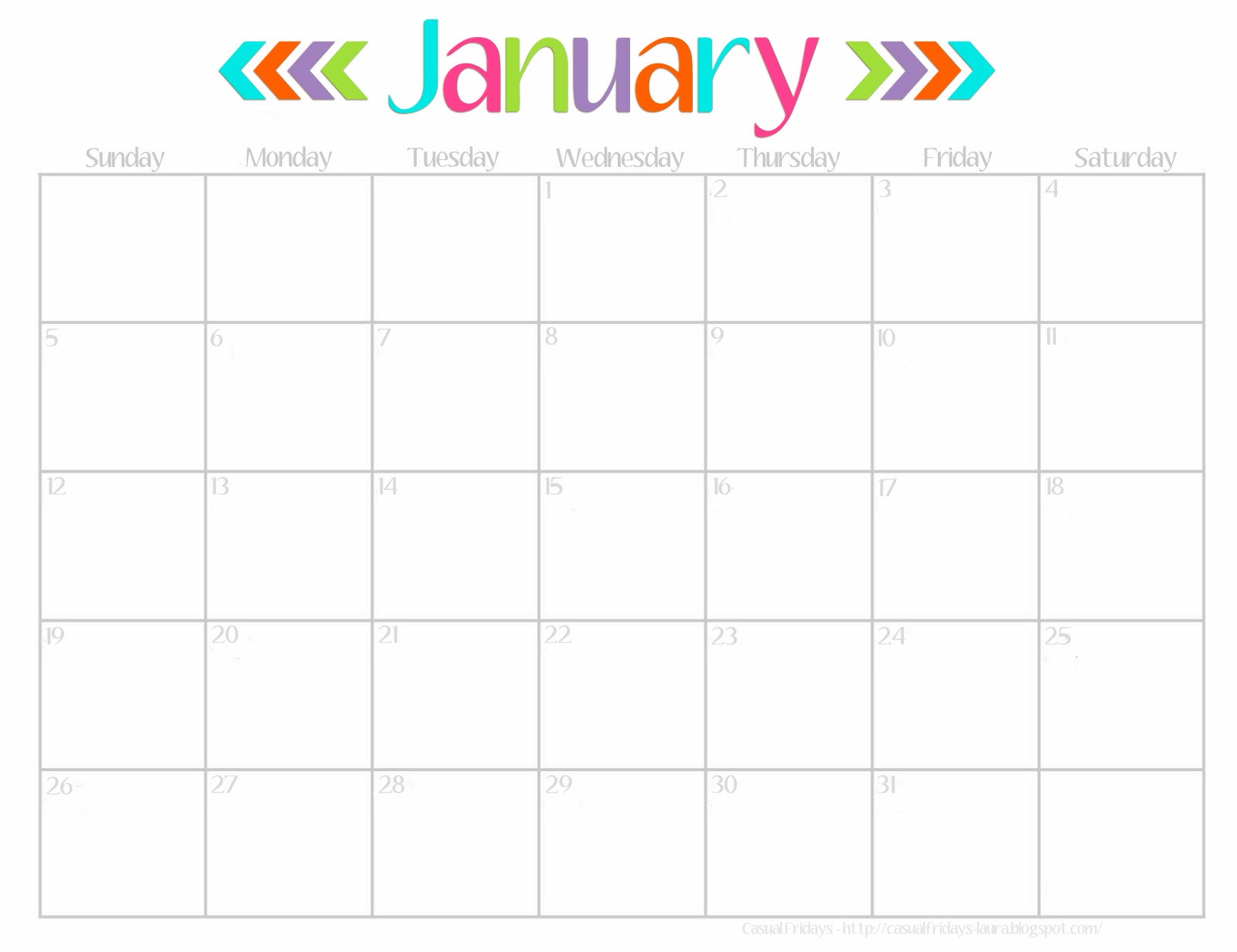 Printable 2015 Calendar Write In Printable Calendar Template