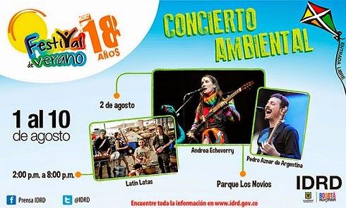Concierto Ambiental Bogota - Festival de Verano