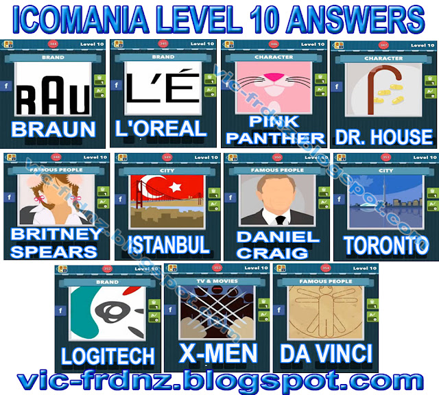 Icomania Level 10