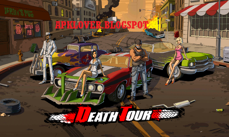 Death Tour is a vehicular combat game with amazing graphics, awesome ...