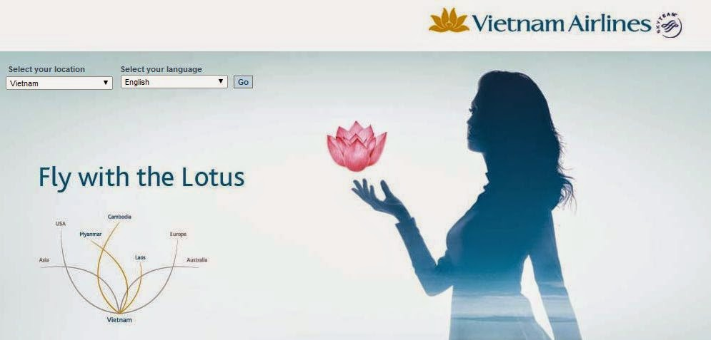 Vietnam Airlines - lotus logo