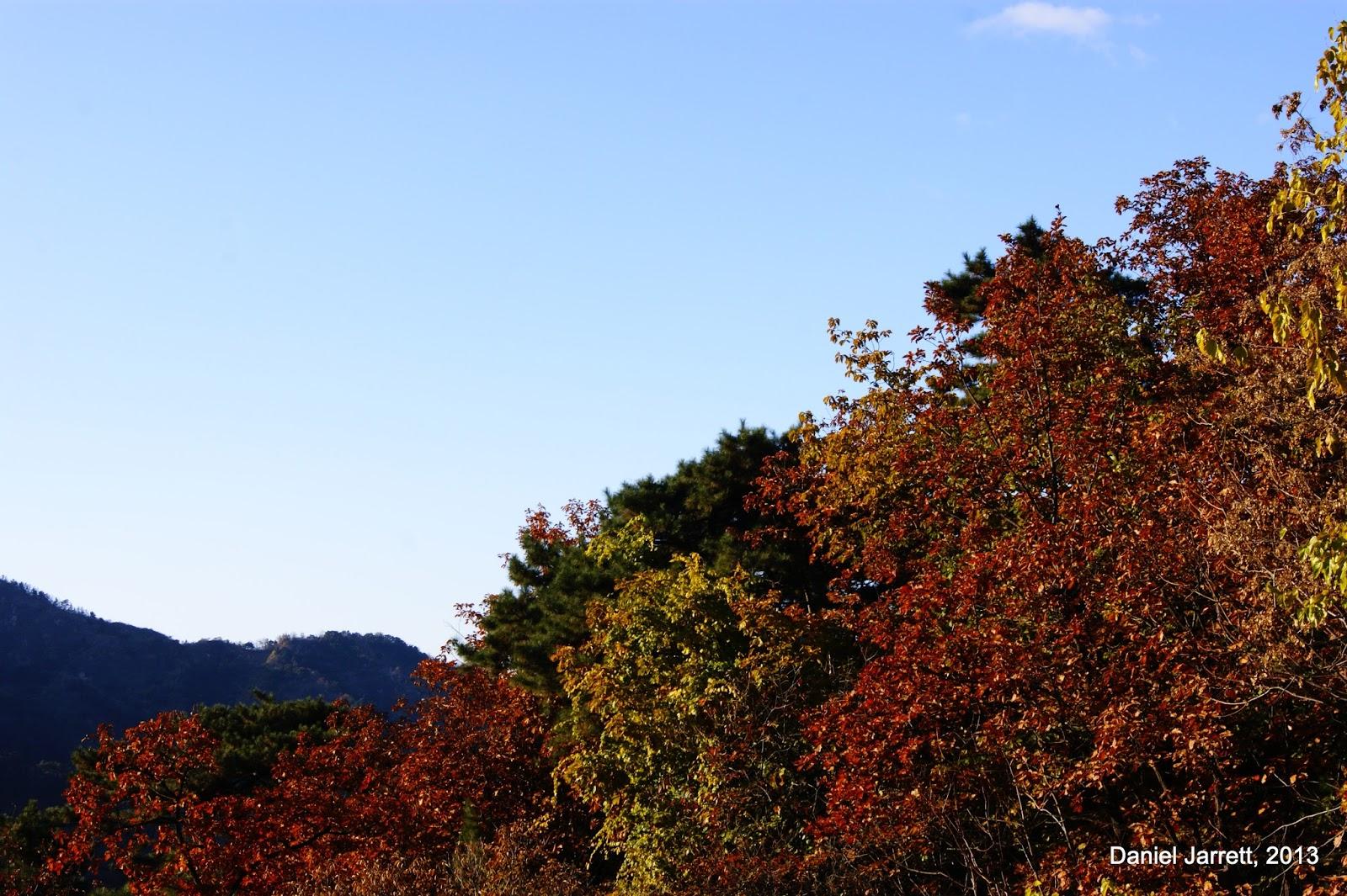Great Wall Mutianyu Autumn