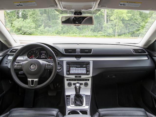 Volkswagen Passat CC 2014 - interior