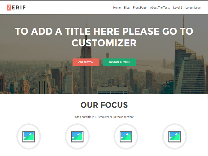 Download Zerif Lite - Free Responsive Wordpress Portfolio Themes 2015 - WpThemesDaddy.com