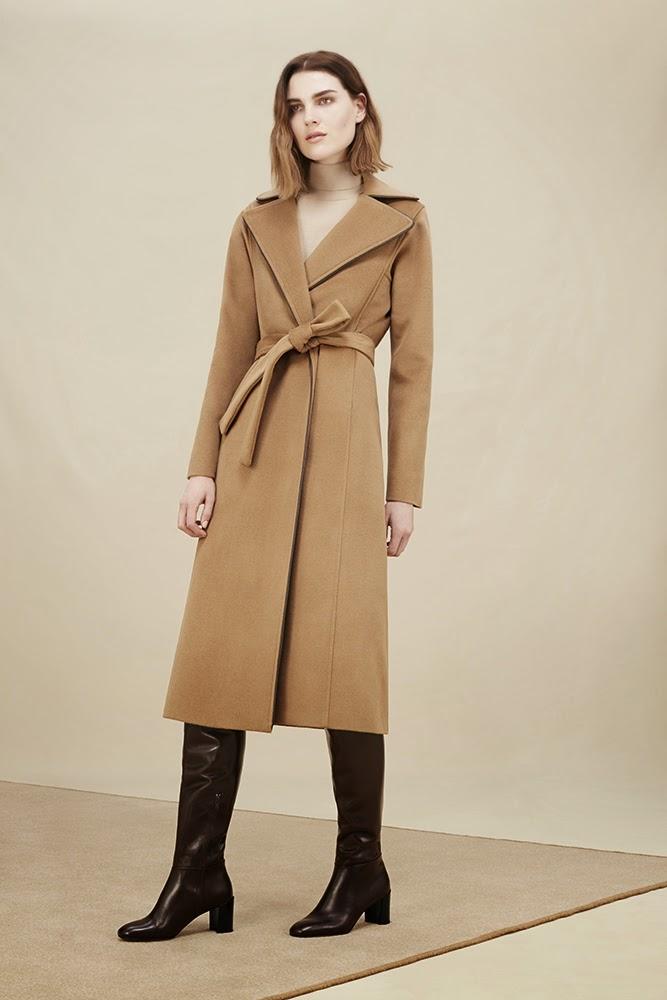 Hobbs camel Cara Coat, Lara Roll Neck Jumper