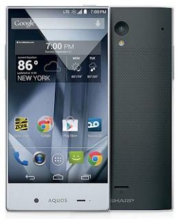 Sharp Aquos Crystal Android Phone Harga Rp 3.9 Jutaan