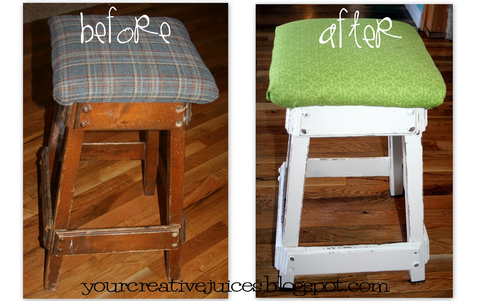 Creative Juices old bar stool : 2012MARCHprojects from yourcreativejuices.blogspot.ca size 1600 x 1000 jpeg 287kB