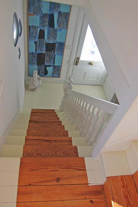 view of staircase in house for sale in nyack