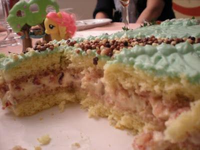 Pasticci in cucina e altro la torta di compleanno - Colorazione pagina della torta di compleanno ...