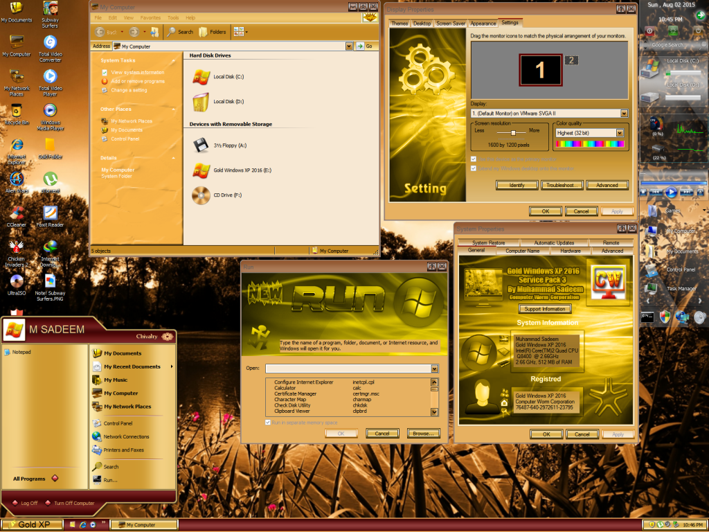 Master ISO Windows XP Gold Edition SP3 2016
