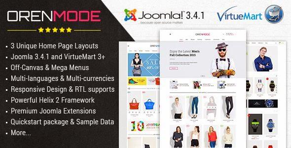 Best Responsive eCommerce Joomla Template