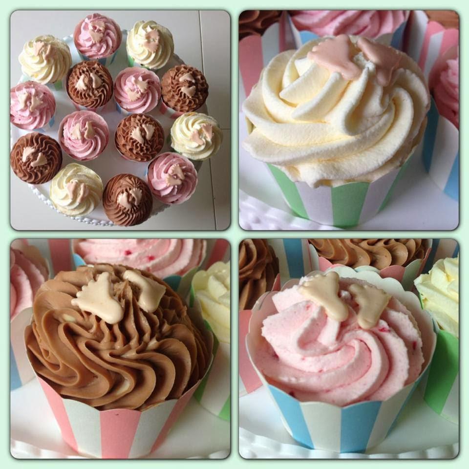 Babyshower cupcakes 2013