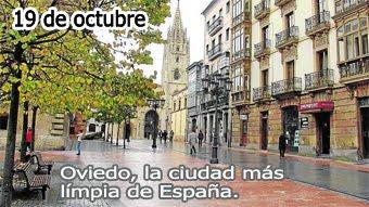 Oviedo, ciudad a imitar..