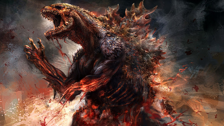 Godzilla Movie Art 2014 03