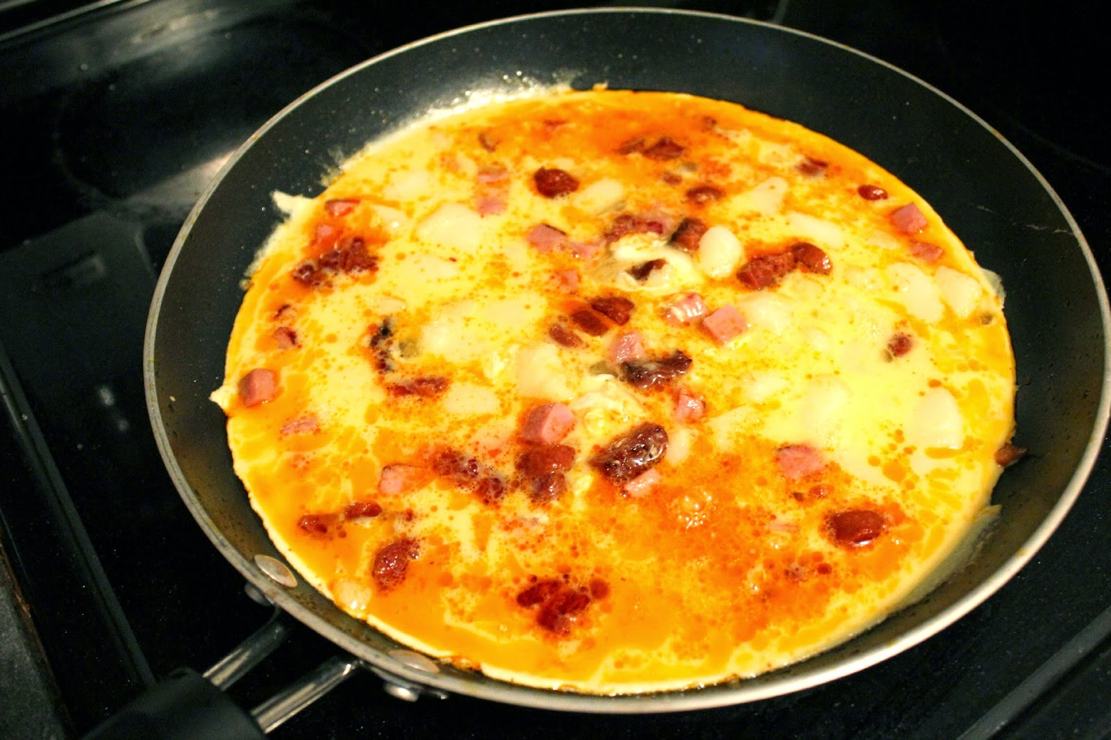 How to make a spanish omelette #SeasonedGreetings #ad