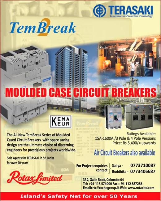 Terasaki | Molded Case Circuit Breakers.