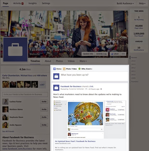 HOW TO USE FACEBOOK NEWS FEED FOR OUR BUSINESS?