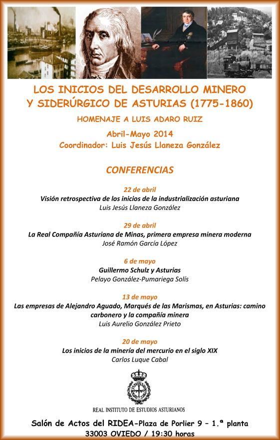 Conferencias Ridea sobre minería y siderurgia