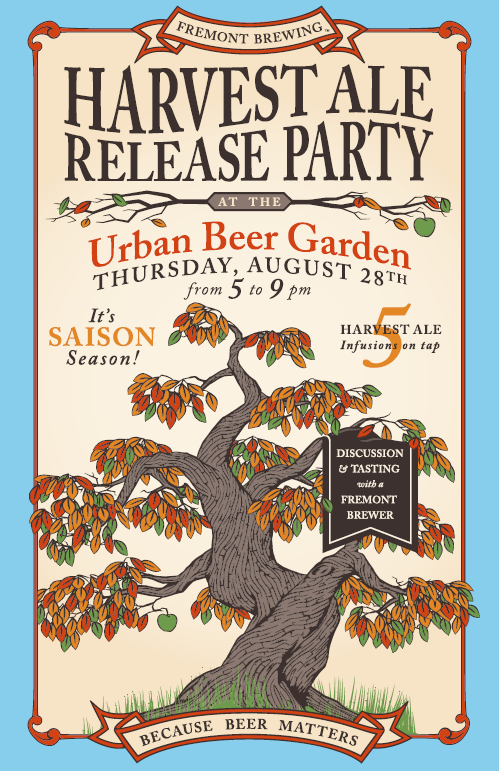 image of Harvest Ale Release Party courtesy Fremont Brewing Company