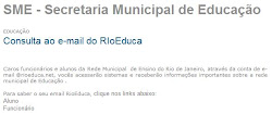 Professor, consulte o seu e-mail do RIoEduca