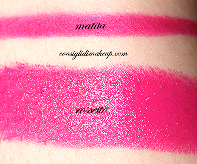 rossetto revolution anarchy urban decay matita 24/7 swatch