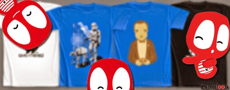 lunesseriefilos A Camiseta Una Fantástica camaloon Y Gracias Gana gwqXvZag