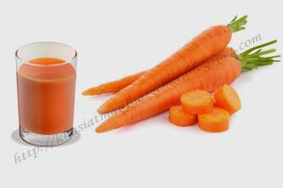 Sejuta Manfaat jus wortel